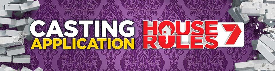 House Rules 6 - Contestant Application